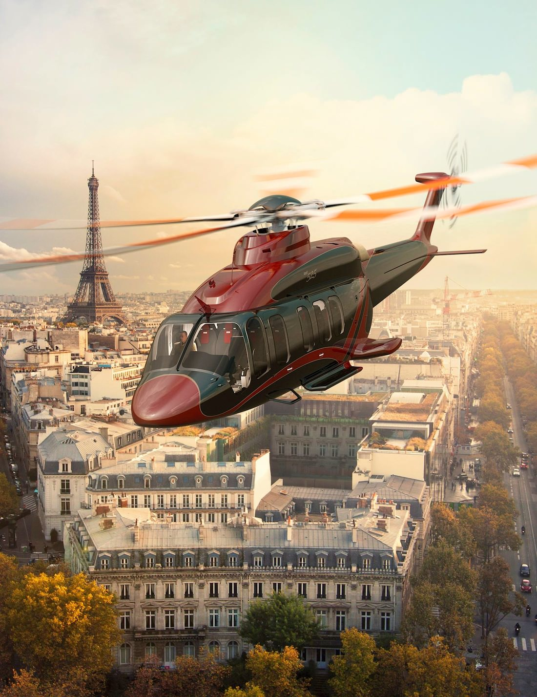 helicoptere Bell 525