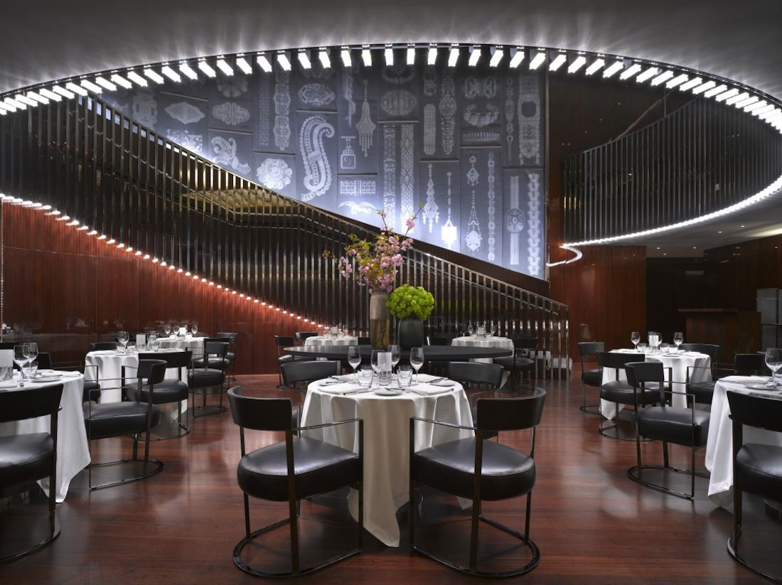 london bulgari hotel restaurant
