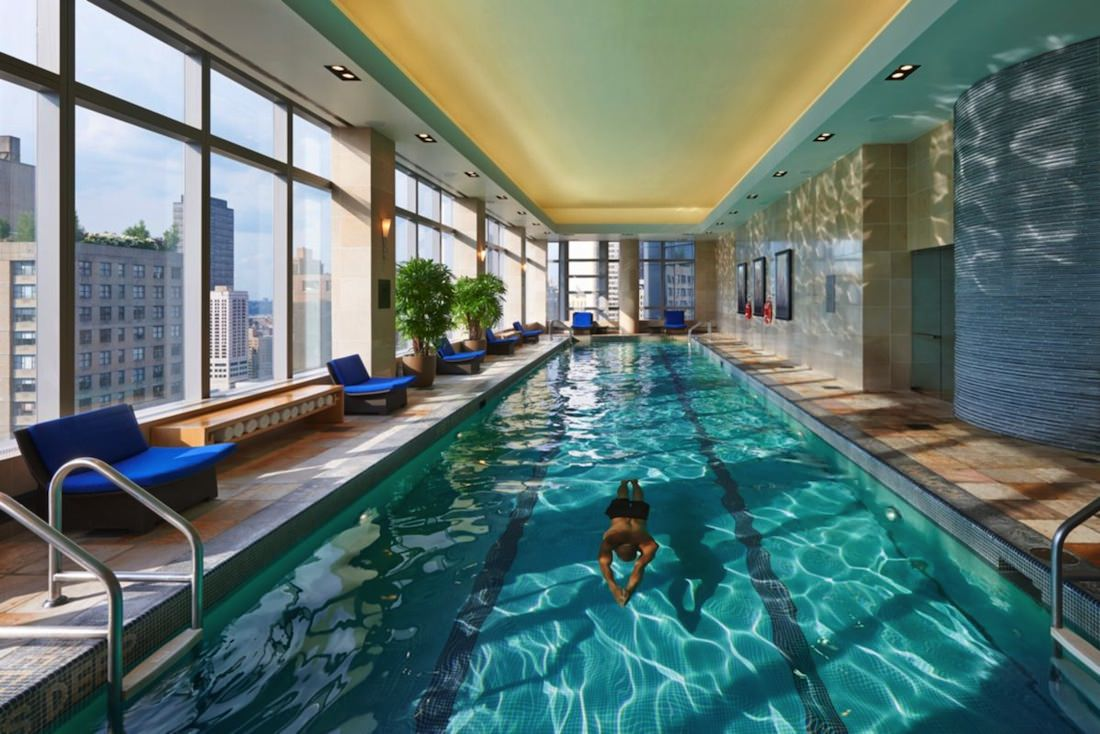 Le mandarin oriental new york promet des s jours donner for Piscine new york