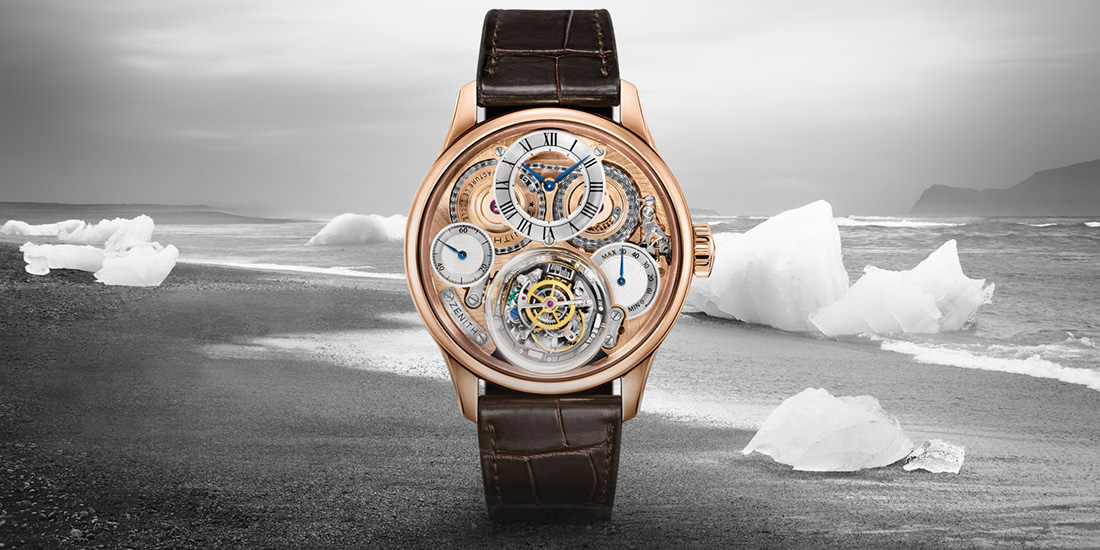 Montre Christophe Colomb Hurricane de Zenith