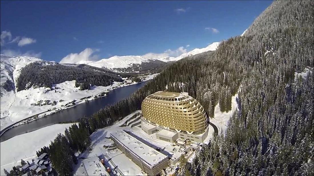 L H 244 Tel Intercontinental De Davos En Suisse