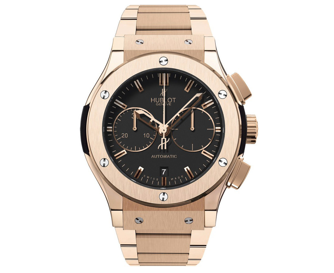 Montre Hublot Classic Fusion Chronographe Automatique Full King Gold