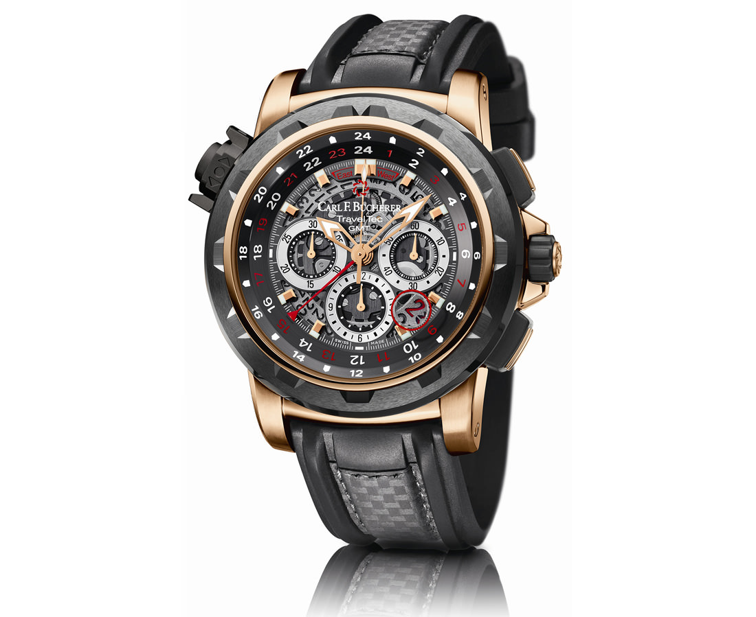 Montre Patravi Traveltec Fourx de Carl F Bucherer