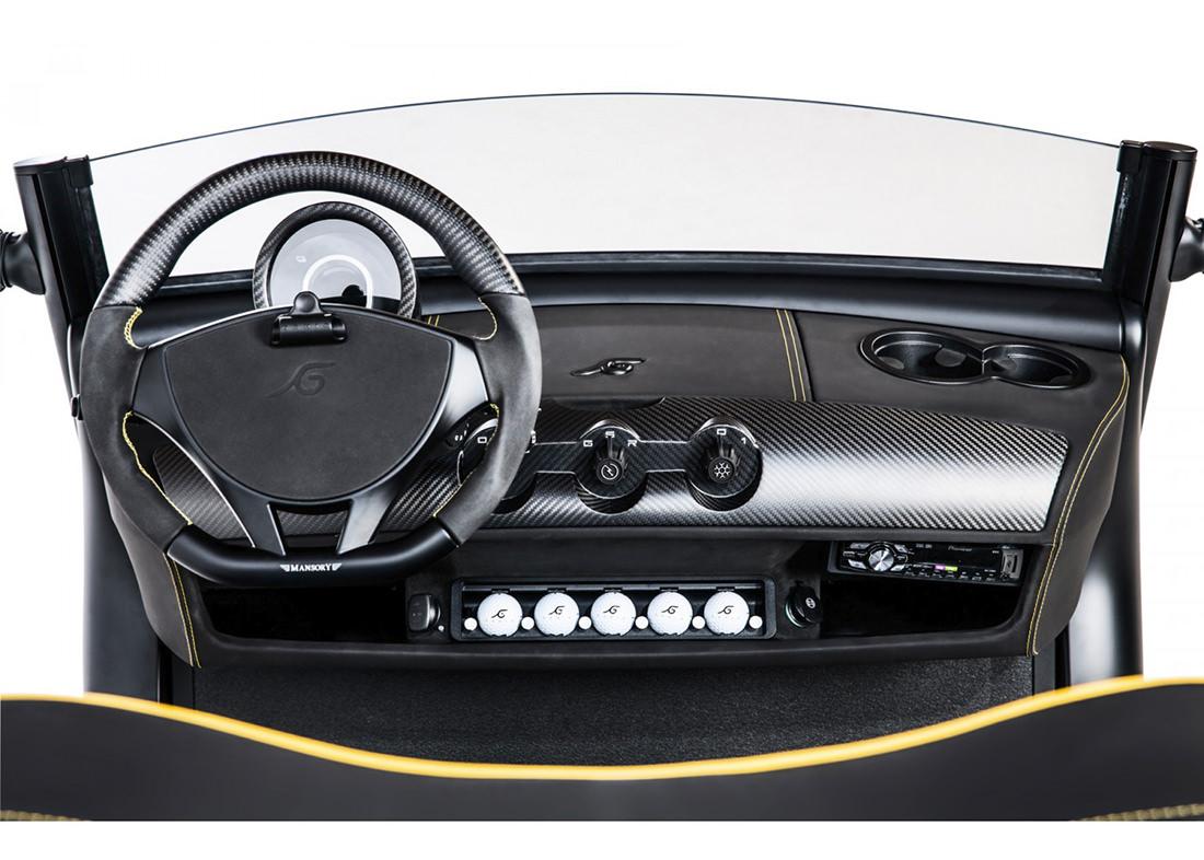 le mod le garia mansory currus une voiturette de golf unique. Black Bedroom Furniture Sets. Home Design Ideas