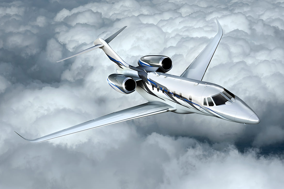 Cessna 750 Citation X N75HS Business Jet Aircraft Corporate Airplane