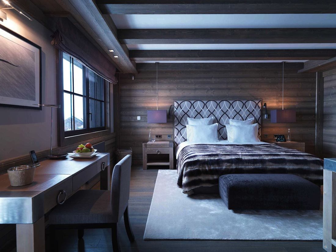 des chalets ultra luxueux louer d 39 une valeur de 250 000 euros. Black Bedroom Furniture Sets. Home Design Ideas