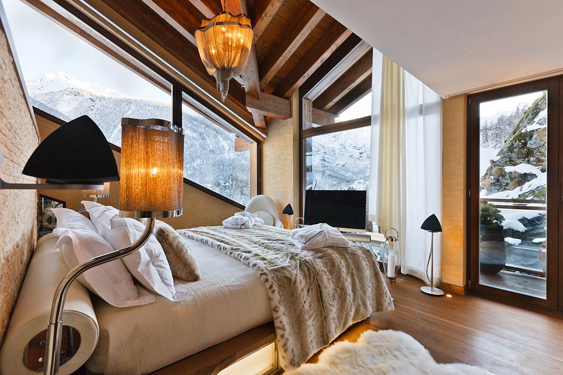 Le chalet zermatt peak un joyau au coeur des alpes suisse - Moderner chalet stil ...