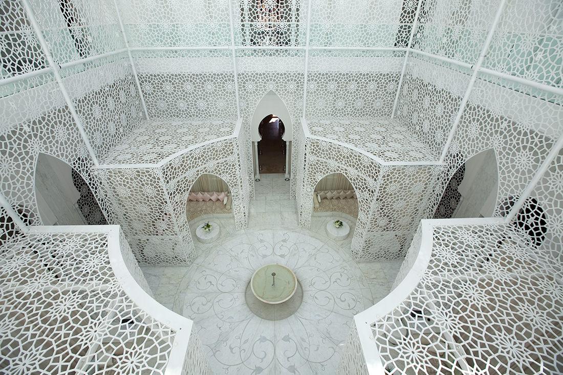 Un exceptionnel hôtel marocain, le royal mansour marrakech