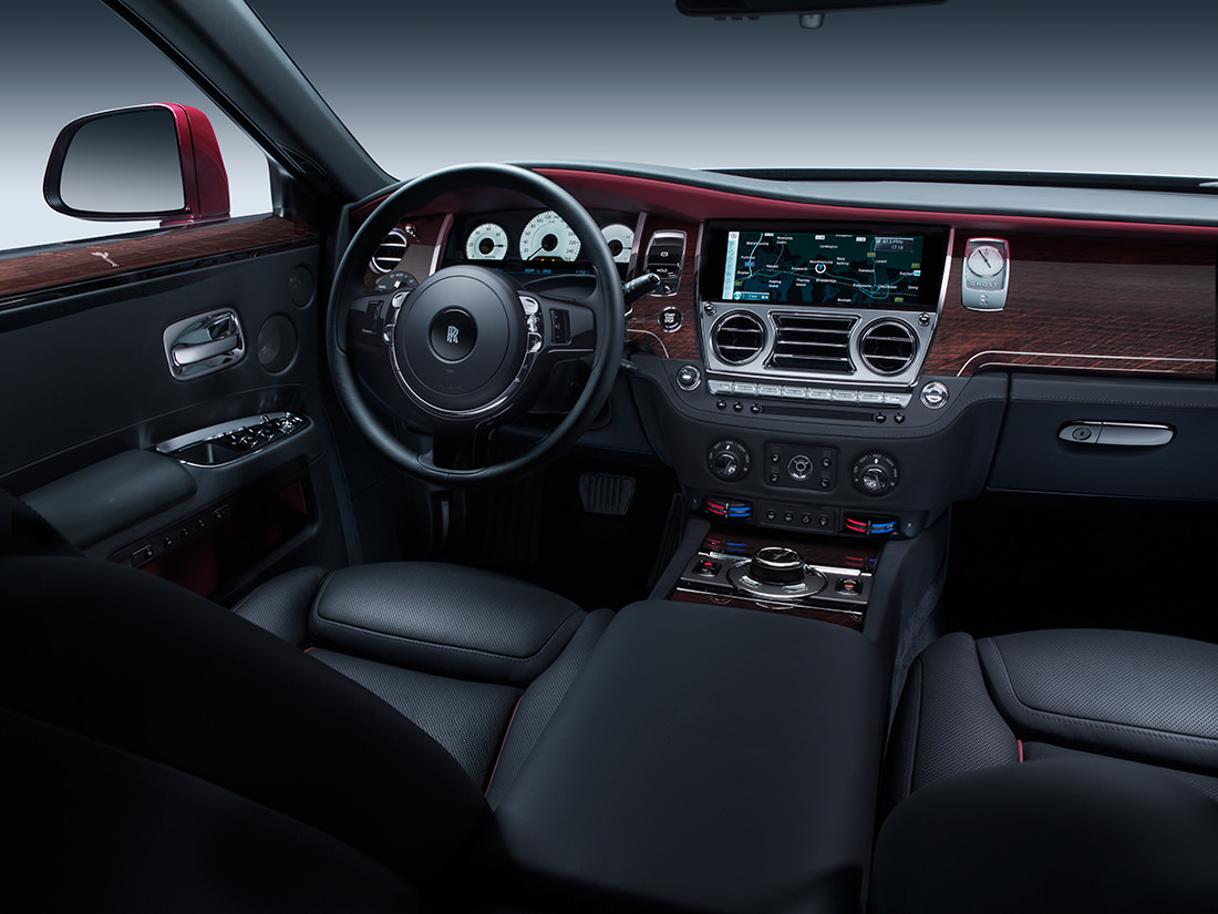 La ghost series ii de rolls royce subtile et raffin e for Rolls royce ghost interior