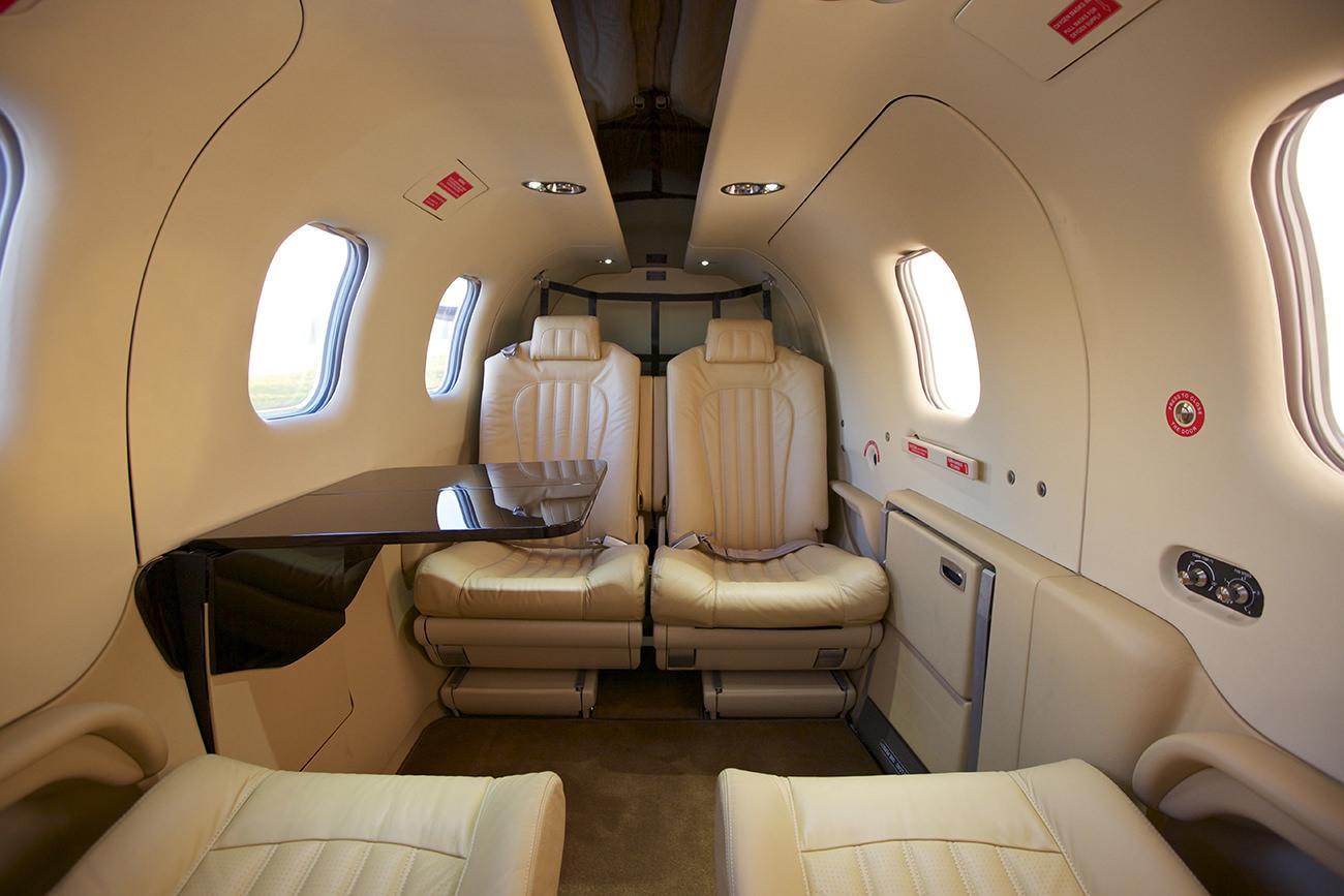 Le tbm 900 par daher socata volez avec style for Interieur avion