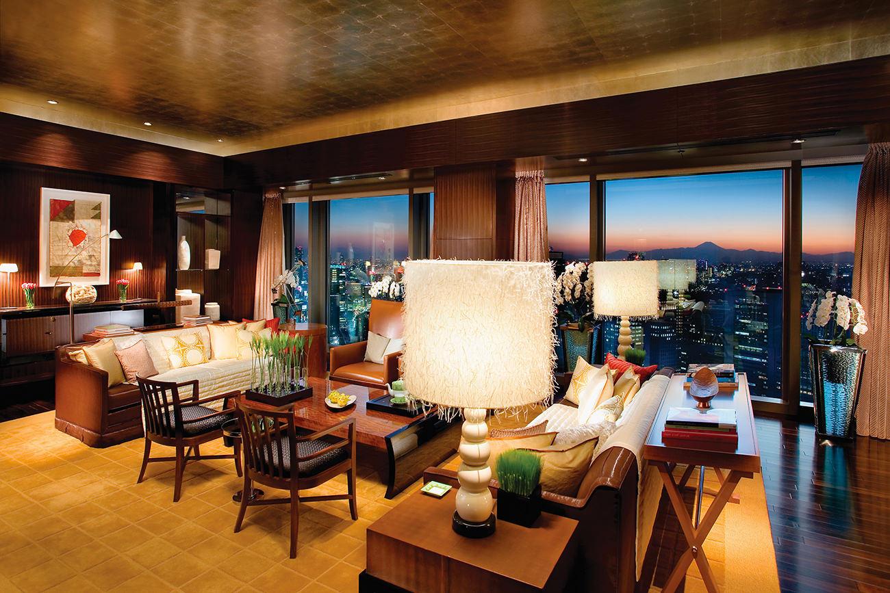 Mandarin Oriental Tokyo La Quintessence Du Luxe Japonais