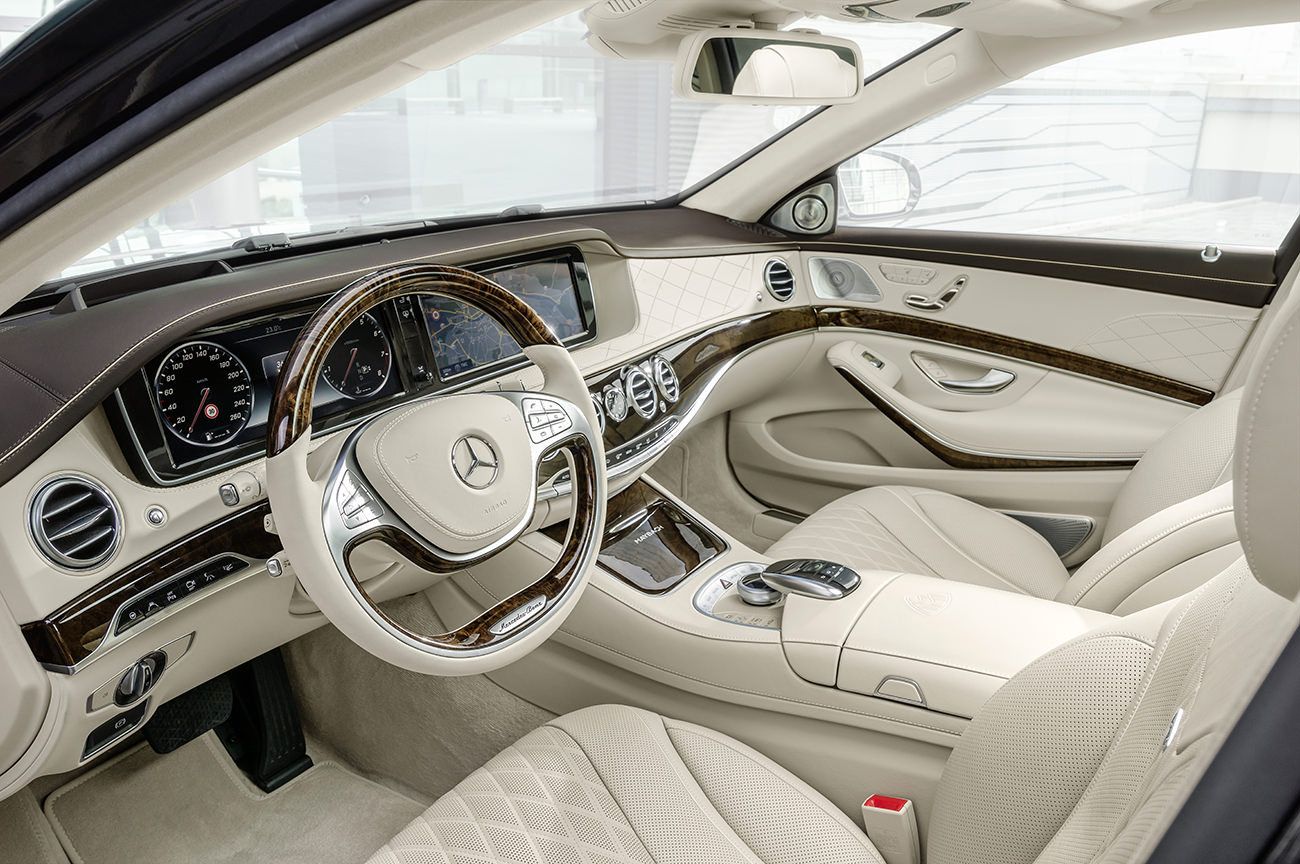 La mercedes maybach classe s version grand luxe for Mercedes classe s interieur