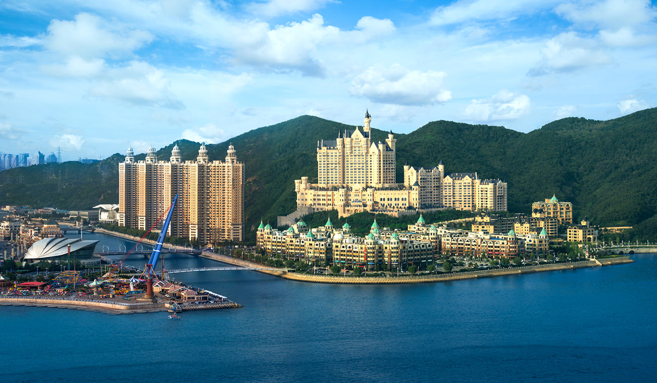 The castle hotel a luxury collection hotel dalian f rique for The luxury collection hotel