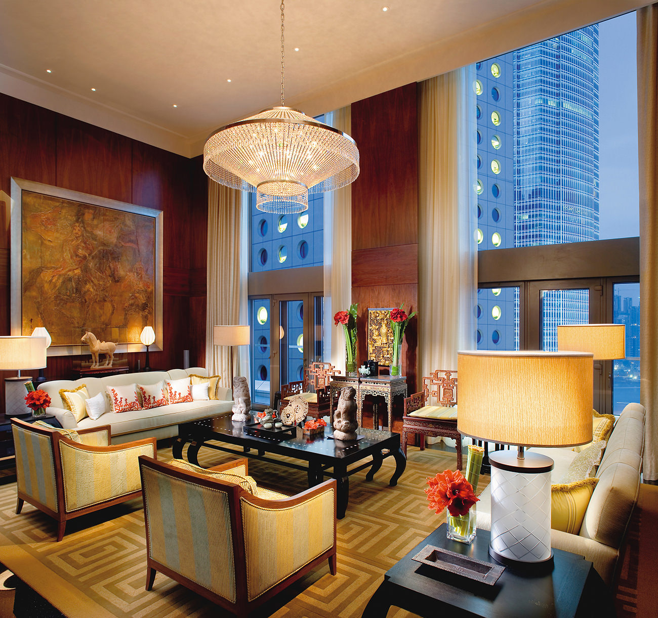Le mandarin oriental hong kong prestigieux et inoubliable - Leave you dead in the living room ...