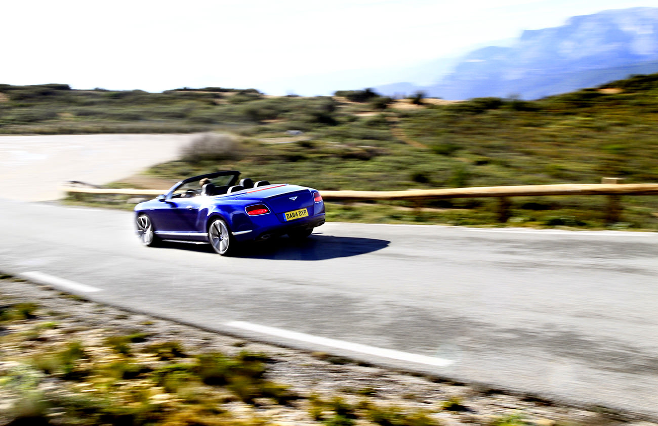 Bentley Continental Gtc V8s Entre Sport Et Relaxation