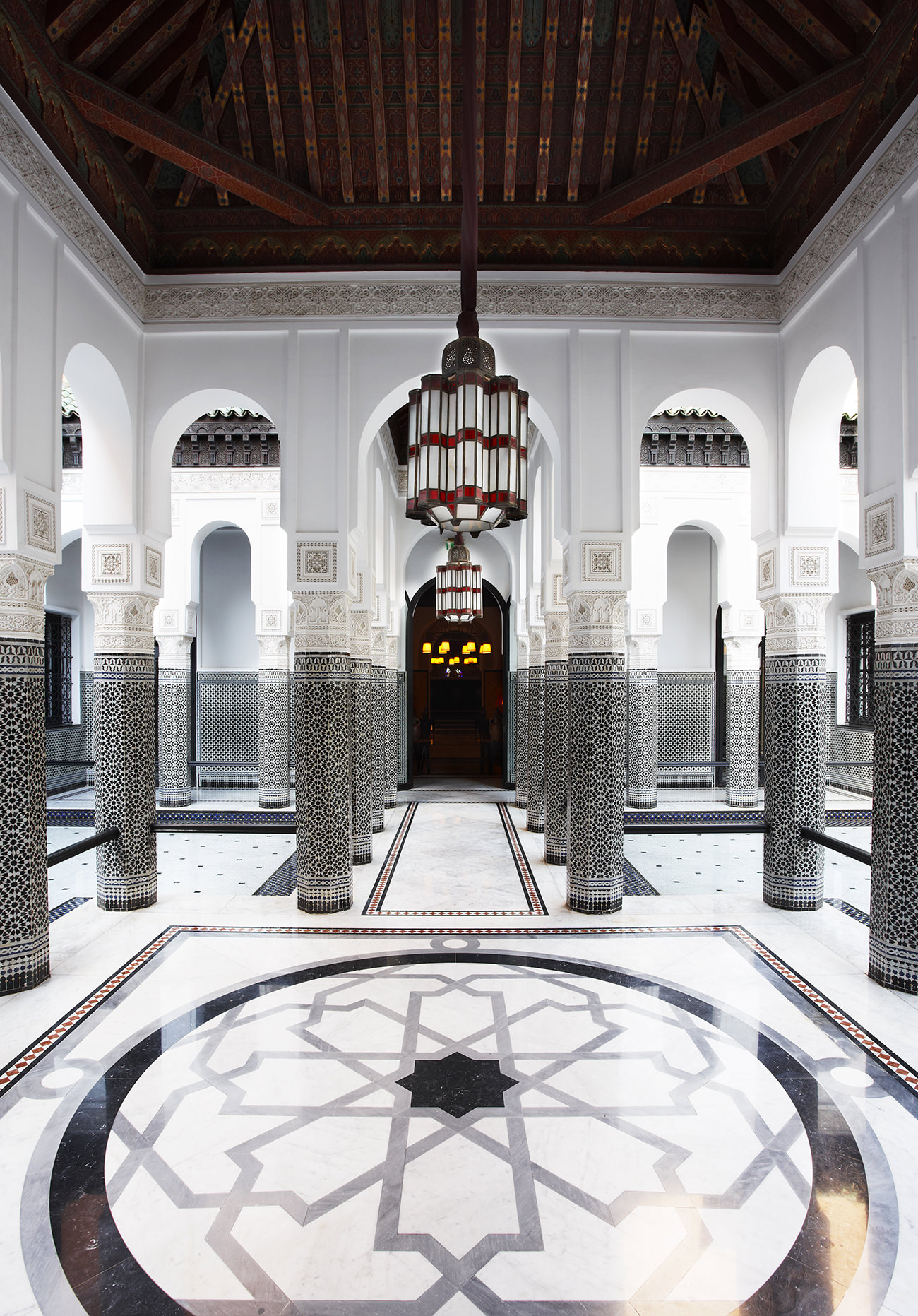 La mamounia un v ritable palace marocain for Hotel design marrakech