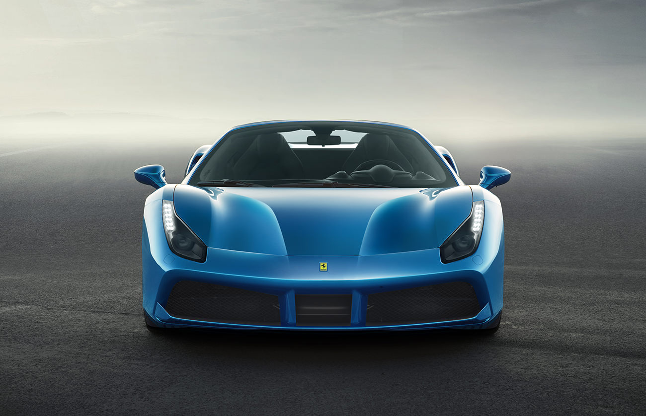 la nouvelle ferrari 488 spider. Black Bedroom Furniture Sets. Home Design Ideas