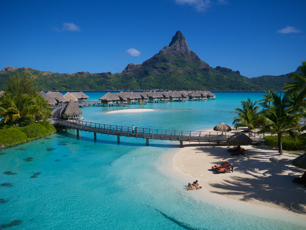 L 39 intercontinental bora bora resort thalasso spa for Foto beautiful