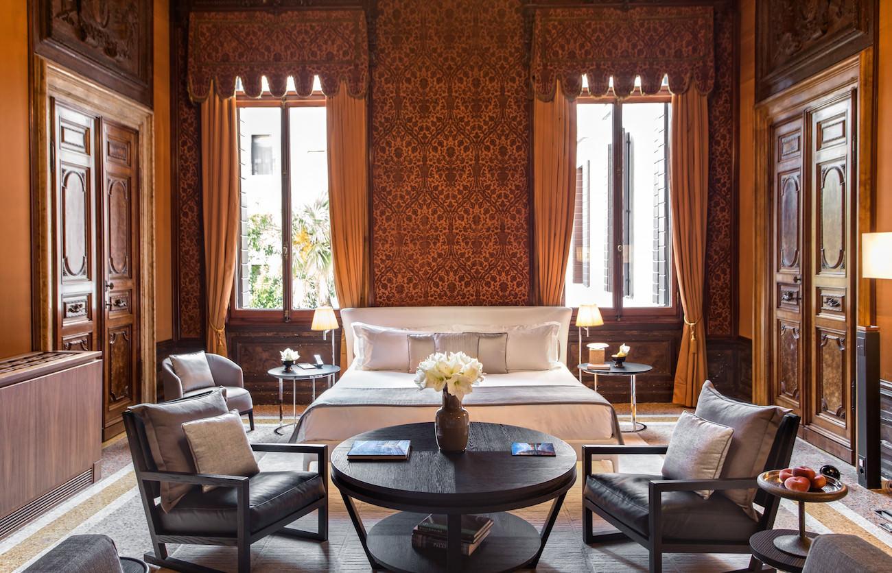 d couvrez l 39 h tel aman venise un palace historique unique. Black Bedroom Furniture Sets. Home Design Ideas