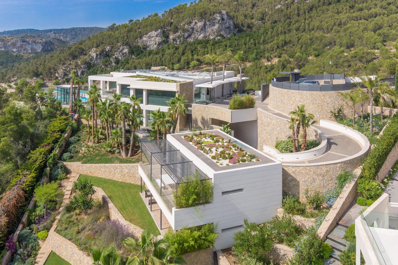 Villa De Milliardaire A Vendre : Villa caméléon de majorque à vendre un design merveilleux