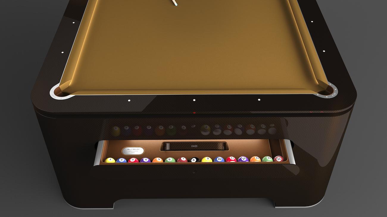 Elysium pool table la table de billard du futur est l et vous n allez pas - Table et billard a la fois ...