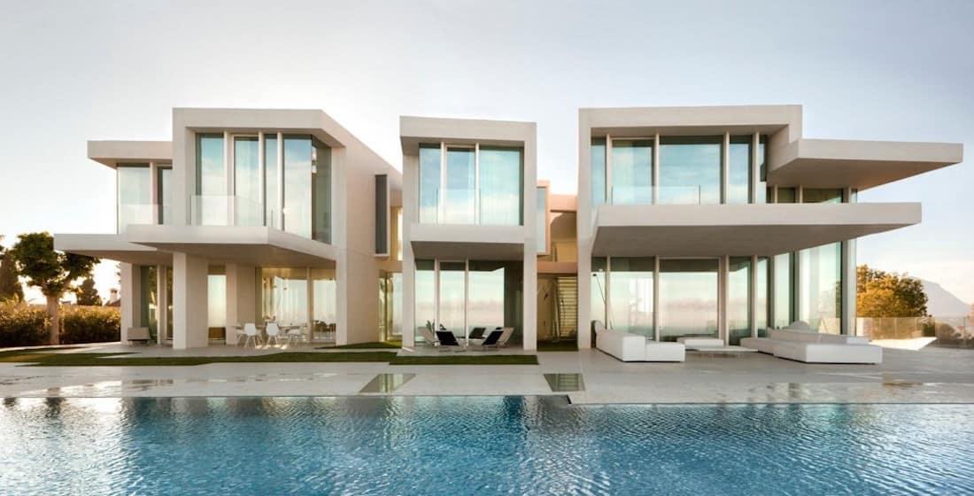 Sardinera House : La Villa Méditerranéenne Contemporaine La Plus  éblouissante Du0027Espagne