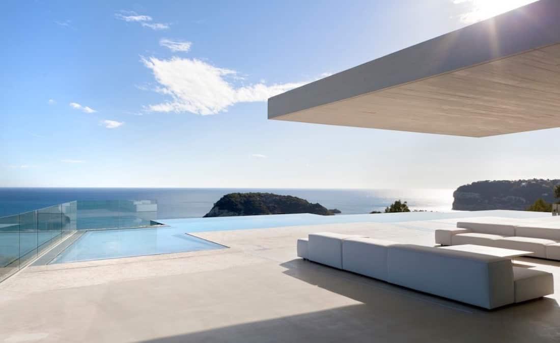 Sardinera House La Villa Mediterraneenne Contemporaine La Plus
