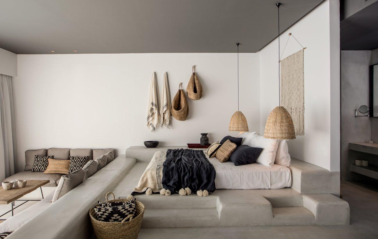 casa cook rhodes des vacances boh mes de luxe en gr ce. Black Bedroom Furniture Sets. Home Design Ideas