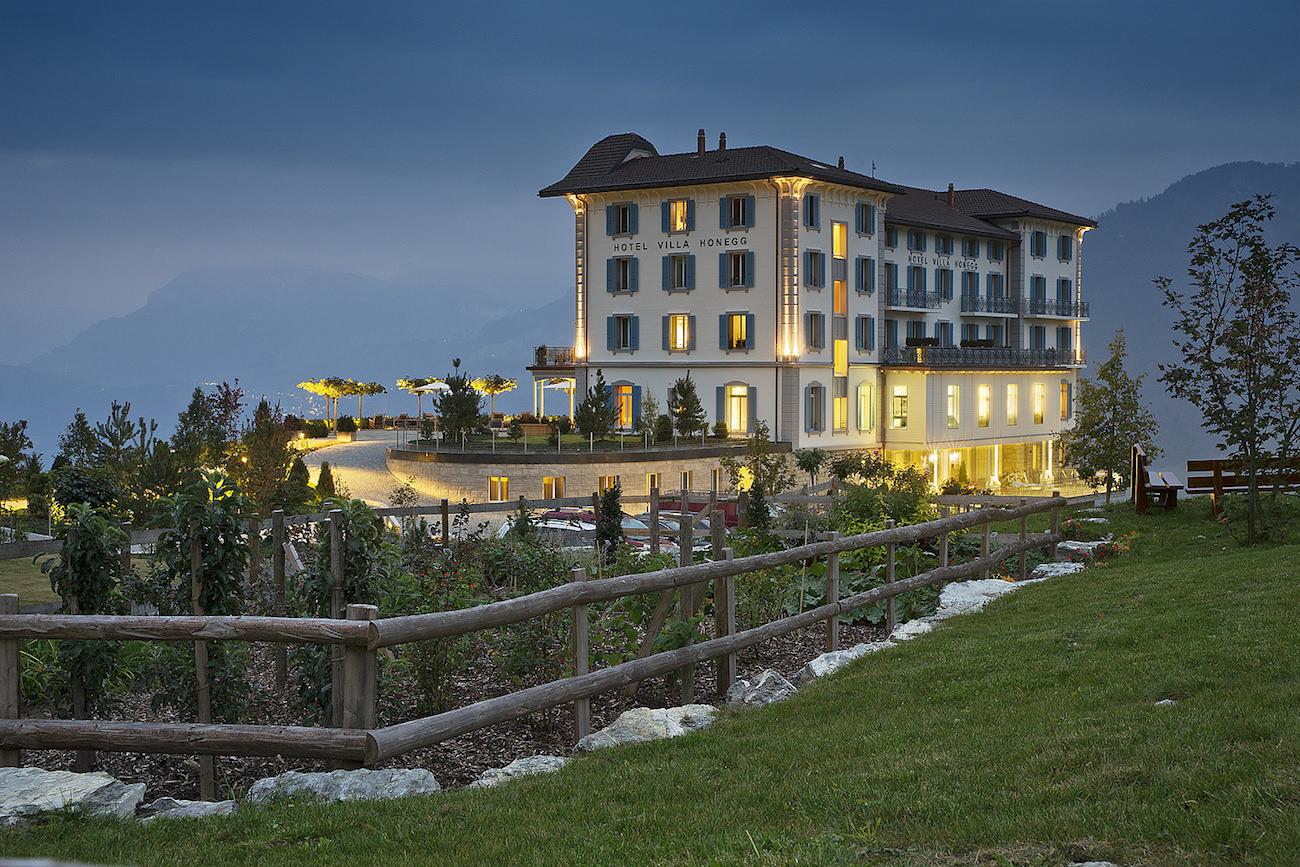 Villa honegg un h tel 5 toiles au coeur de la montagne for Hotels 5 etoiles