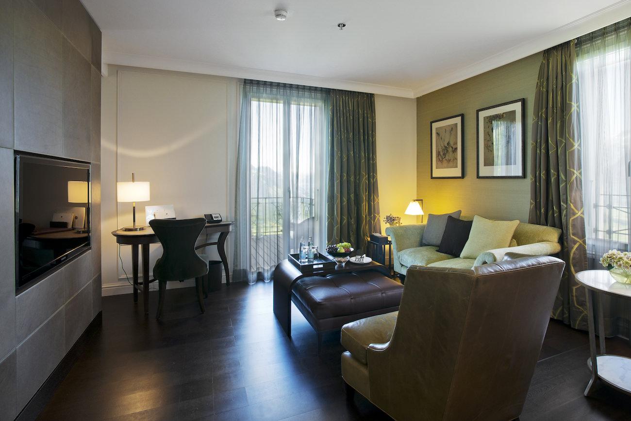 villa honegg un h tel 5 toiles au coeur de la montagne. Black Bedroom Furniture Sets. Home Design Ideas