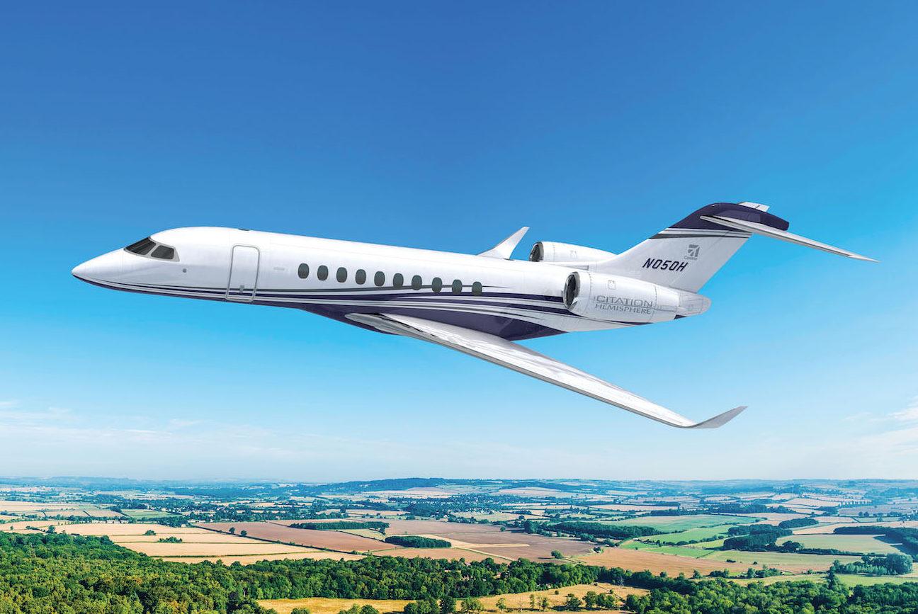Cessna confirme sa volonté de révolutionner les voyages privés avec le prochain Citation Hemisphere
