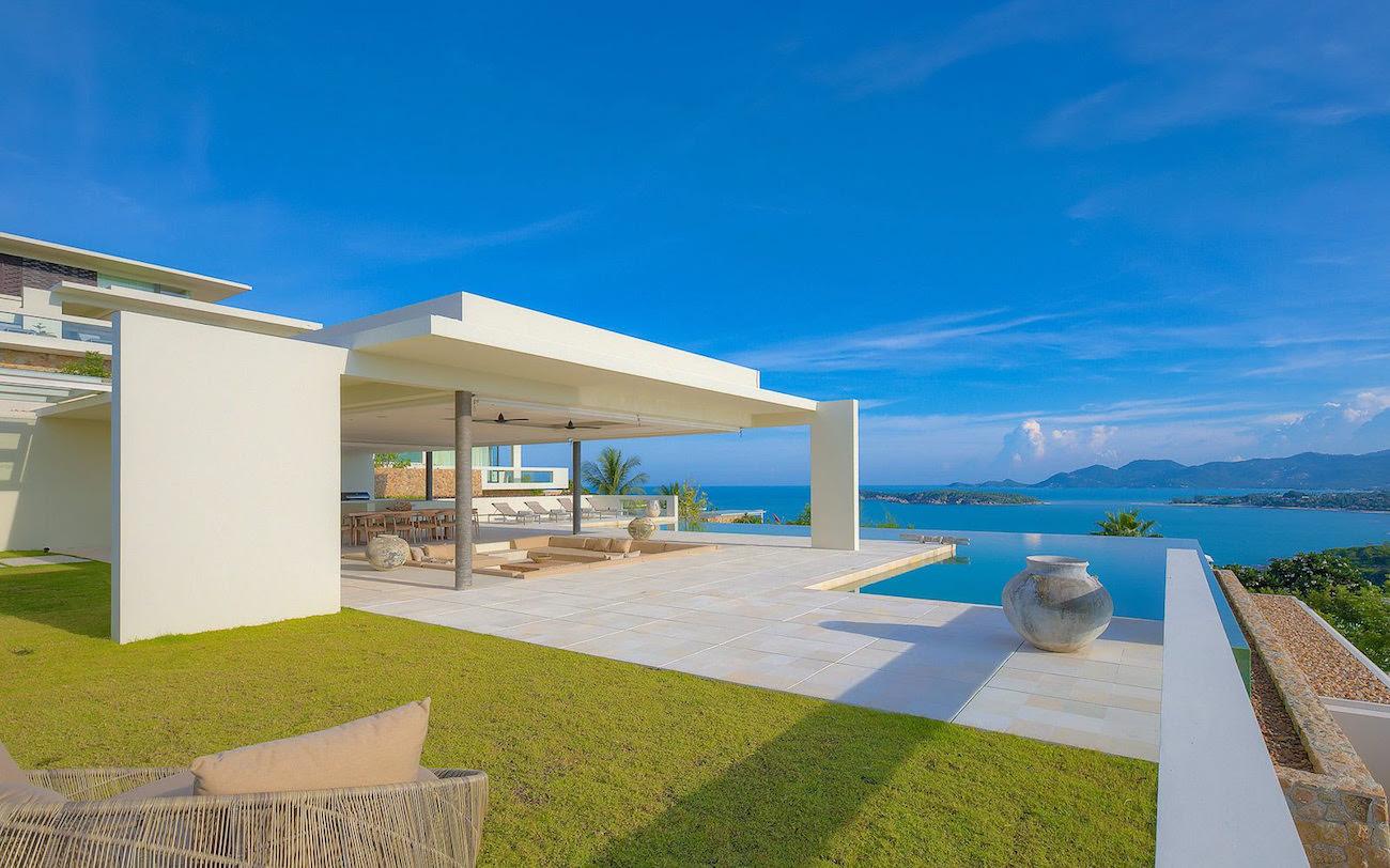 Achetez votre villa de r ve koh samui pour 3 millions de for Exterieur villa design