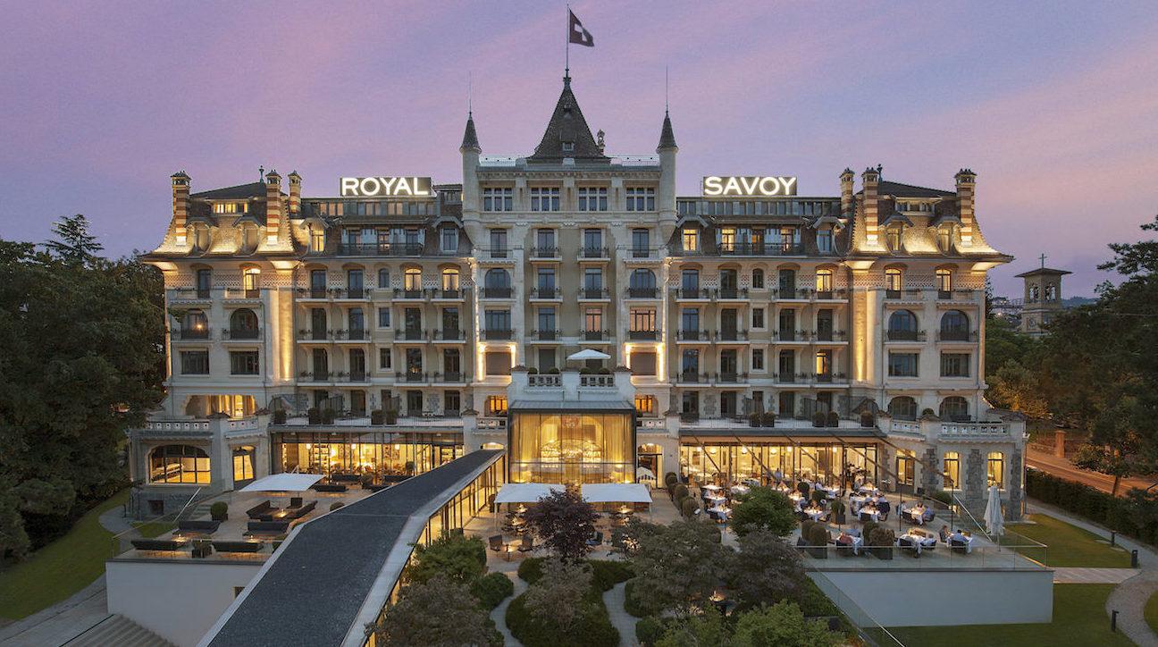 Hôtel Royal Savoy : embarquez pour la vie de château au cœur d'une bâtisse historique de Lausanne