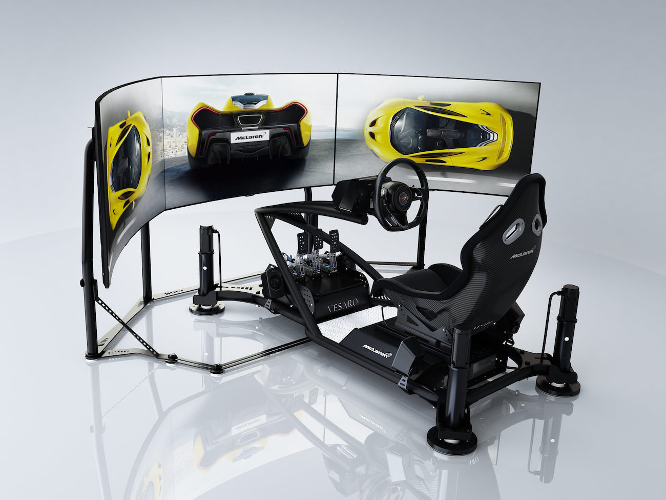 mclaren ultimate series simulator une supercar dans votre maison. Black Bedroom Furniture Sets. Home Design Ideas