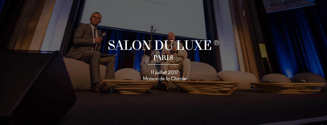 Rendez vous au salon du luxe 2017 avec the milliardaire for Salon du manga paris juillet