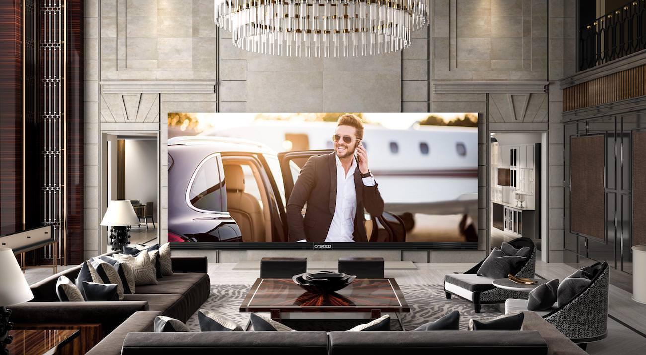 C SEED 262 : si votre salon est assez grand, découvrez l'écran 4K le plus large du monde
