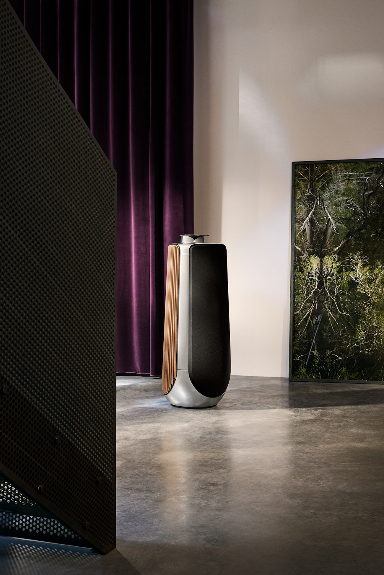 d couvrez la nouvelle enceinte bang olufsen la beolab50. Black Bedroom Furniture Sets. Home Design Ideas
