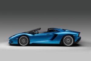 La Lamborghini Aventador S Roadster fait son apparition au dernier Salon de Francfort