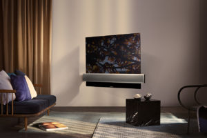 La première collaboration de Bang & Olufsen avec LG voit le jour grâce à la BeoVision Eclipse