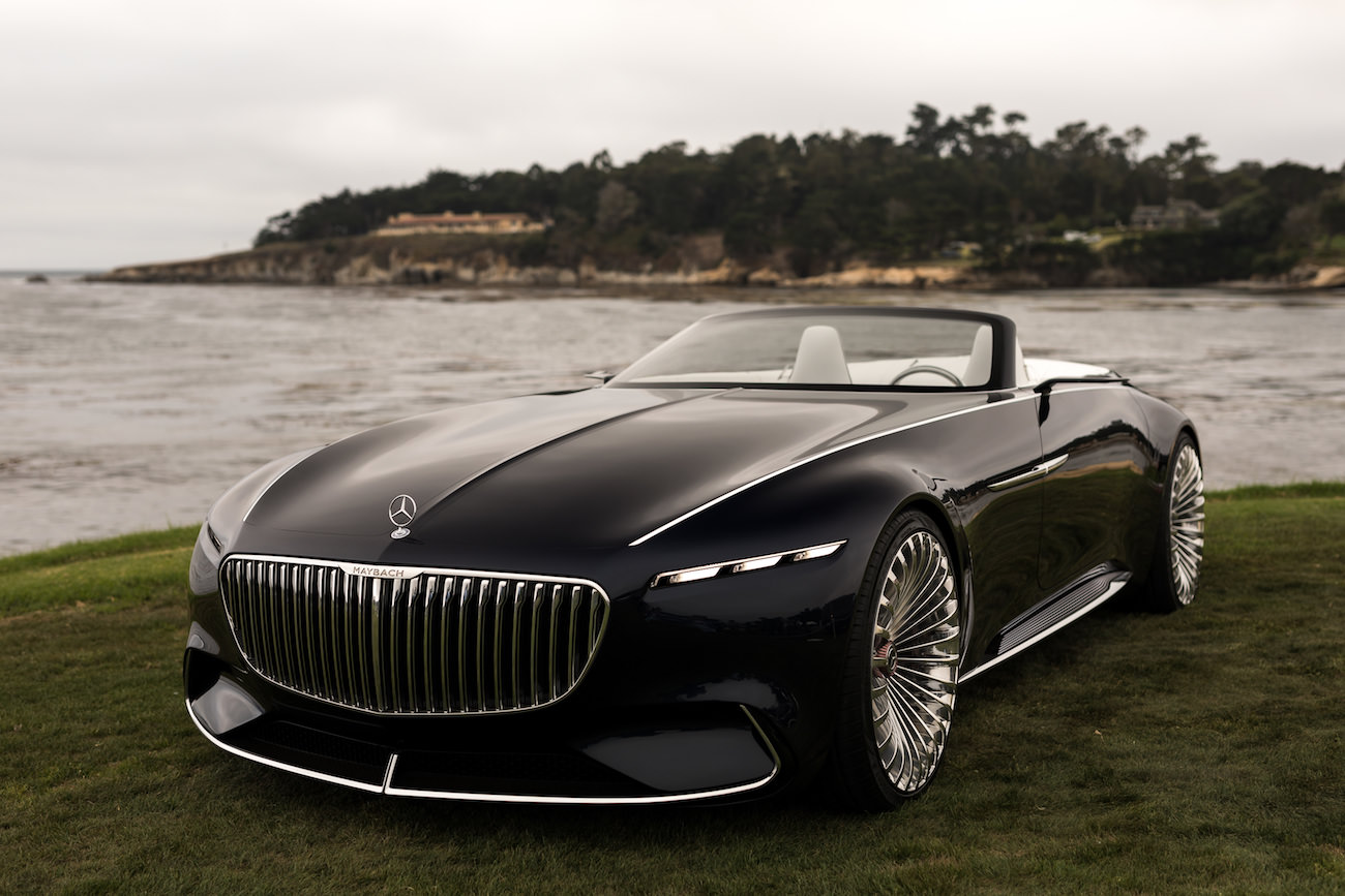 vision mercedes maybach 6 cabriolet une voiture classique et futuriste. Black Bedroom Furniture Sets. Home Design Ideas