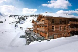 Chalet N: un hôtel luxueux et authentique au cœur de la région de l'Arlberg en Autriche