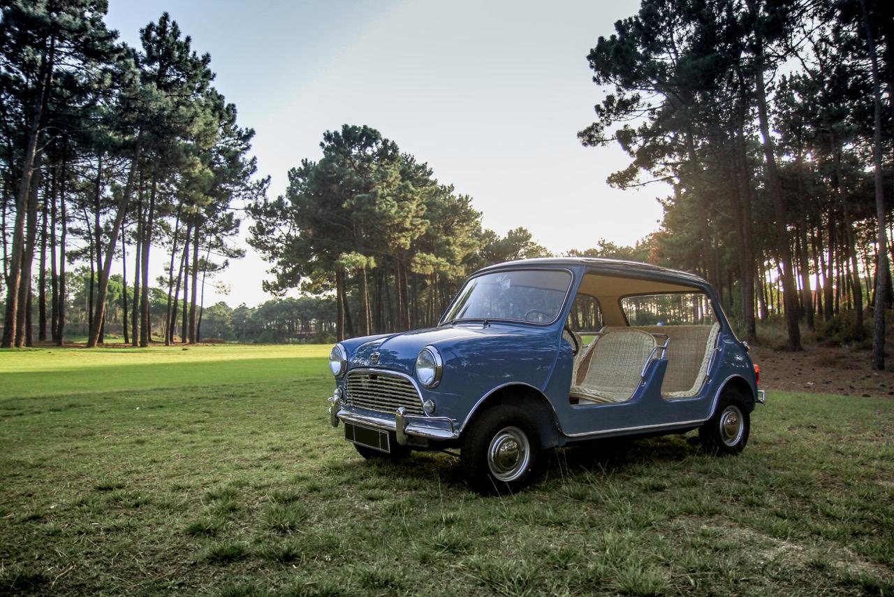 Rare: 1964 Austin Mini Beach soon for sale