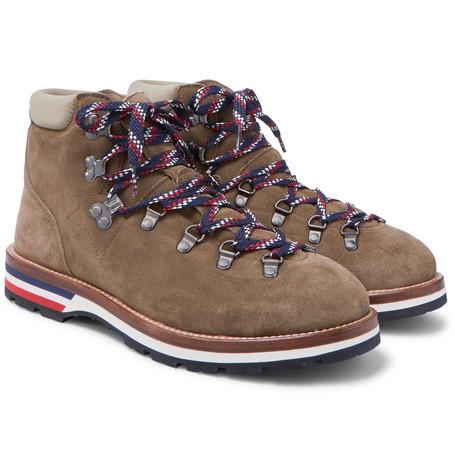 Boots Moncler en daim
