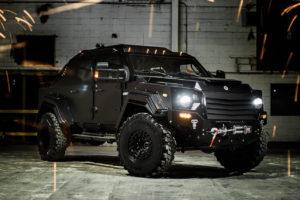 Vous rêviez d'un véhicule blindé monstrueux? Terradyne présente le Gurkha RPV