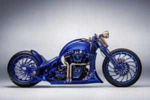 Harley-Davidson Blue Edition : une moto customisée par le joallier Bucherer
