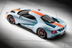 Ford commercialisera une GT Heritage Edition en 2019